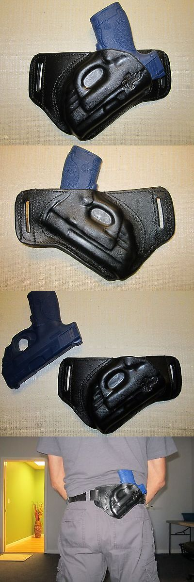 Holsters 177885: Sandw Mandp Shield, With Ct Laser, Formed Leather, Sob,Owb, Belt Holster, Right Hand -> BUY IT NOW ONLY: $48 on eBay!