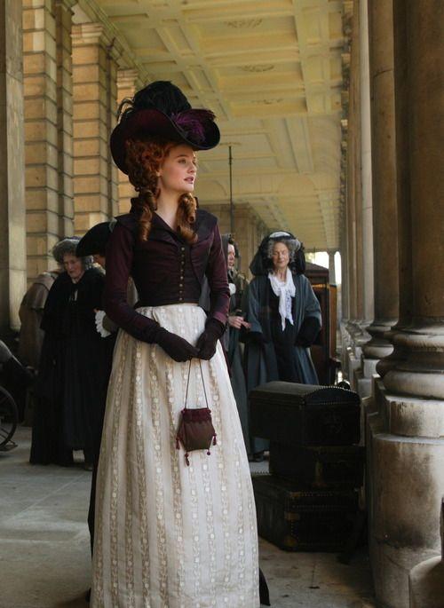 Romola Garai as Barbara Spooner inAmazing Grace (2006). - 1790s style