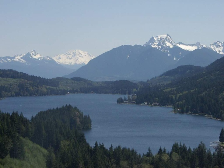 Lake Cavanaugh, WA home away from home! Places to go