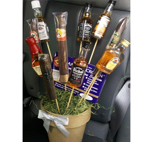 THE SHADY SIDE: Unique And Cool Valentines Day Gift For Him  Liquor And  Cigar