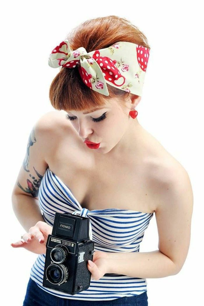 40 Short Rockabilly Hairstyles For Women And Men | Hum Ideas