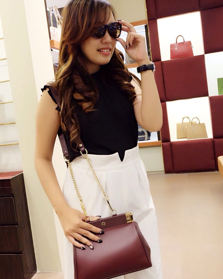 Enchance your daily fashion with Bag and Sunglasses by Aigner collections at TSM GF Floor