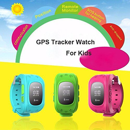 Unlocked Children Baby Kids Smart Watch Phone GPS Tracker Security Monitor Anti-lost (Blue) 23.39  #APP #BatteryCapacitry #ColorBlue #ElectronicFence:Onthisfunction,familiescansetupazone,whichbecentredonthewatch.Onceoutofthiszone,itwillalertbyAPPandSMS. #GPRS #GPS #GsmPositioningAccuracy #LED #MaximumAltitude...