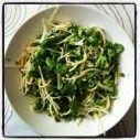 Pasta met broccoli, tuinbonen en erwten