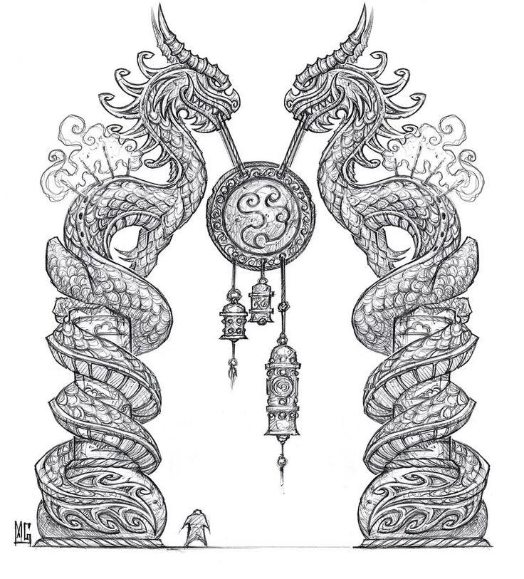 225 Best Dragons Images On Pinterest