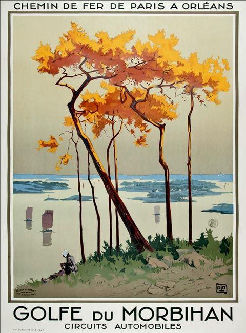 Golfe du Morbihan – 1927
