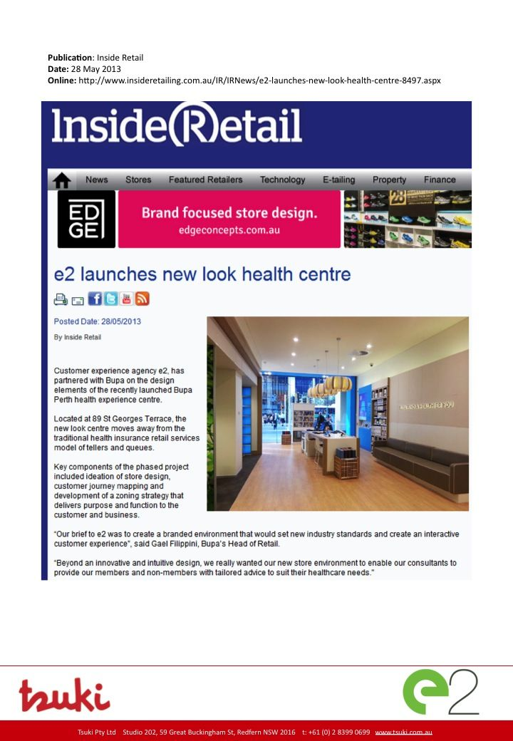 Media: Inside Retail page 1of 2