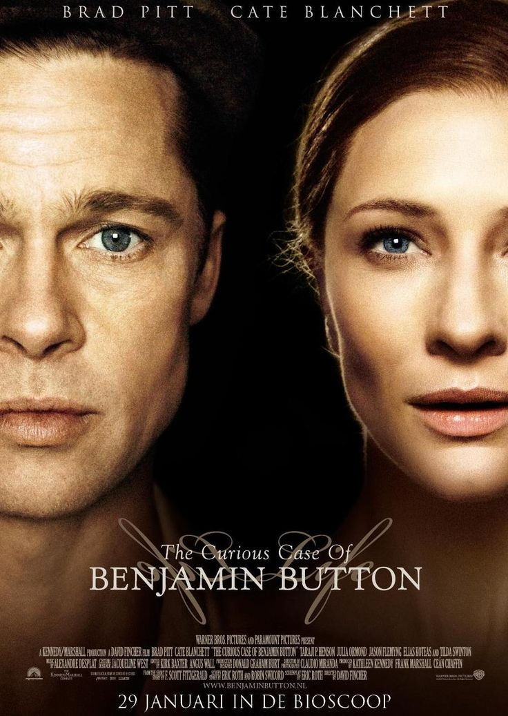 The Curious Case of Benjamin Button is a 2008 American fantasy drama film. -This memorable film is a compelling exploration of life, death, and the enduring power of love. This movie makes me rethink my life...