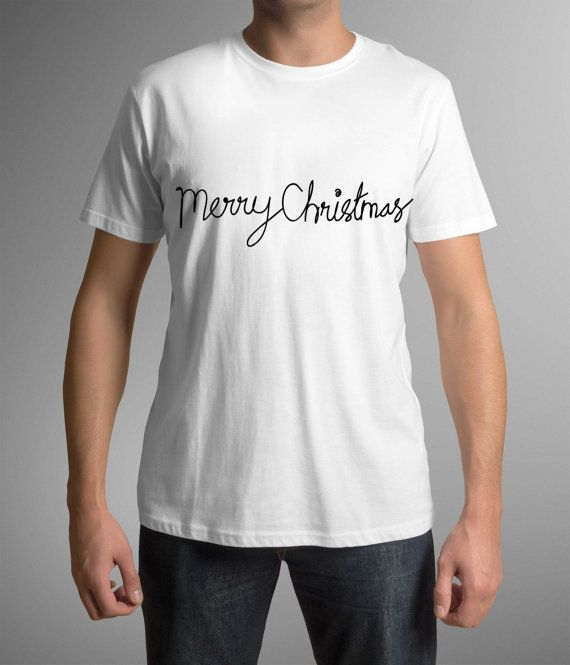 Merry Christmas, Mens clothing, Mens t-shirt, Holiday Gift, Christmas gift, Christmas t-shirt, T-shirt, Gift for Son, For Husband