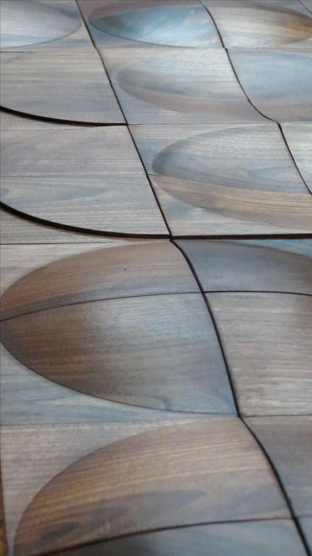 ScanWest Doors - CAPRON: Hand turned solid walnut exterior and interior door