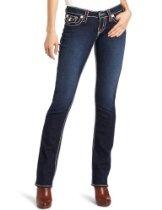 True Religion Women's Billy Super T Straight Jean