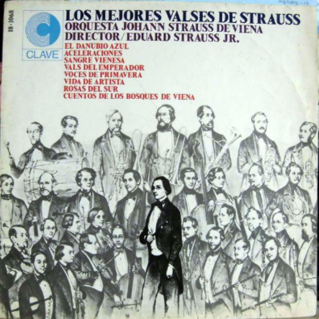 Voces De Primavera Frühlingsstimmen 1882 Johann Strauss Hijo El Danubio Azul La Voz Vals