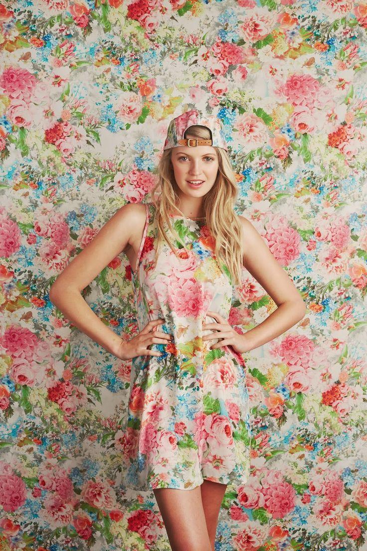 Make Hearts Race floral jumper