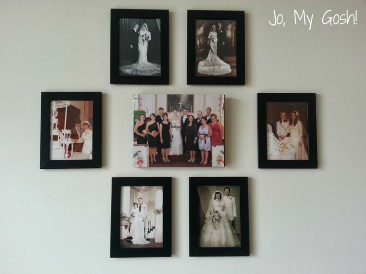 Review: Creating a Family Photo Wall with Easy Canvas Prints | #diy #wedding #photos #mural