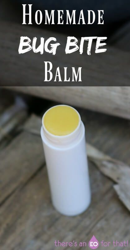 Homemade Bug Bite Balm - Relieve the itching and pain associated with insect bites using this simple yet effective balm recipe.