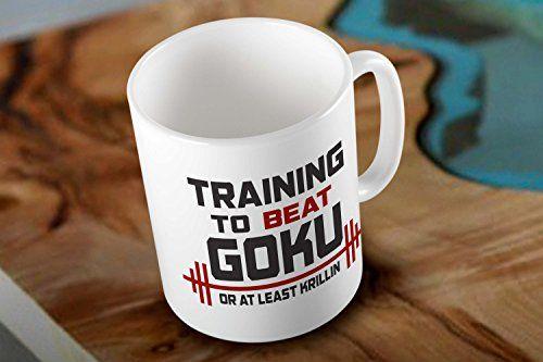 Dragon Ball Quote Training to Beat Goku White Coffee Mug Mug http://www.amazon.com/dp/B018HPHWUU/ref=cm_sw_r_pi_dp_J2HEwb1K9H4N0 #mug #printmug #mugs #ceramic #coolmug #dragonball #quote