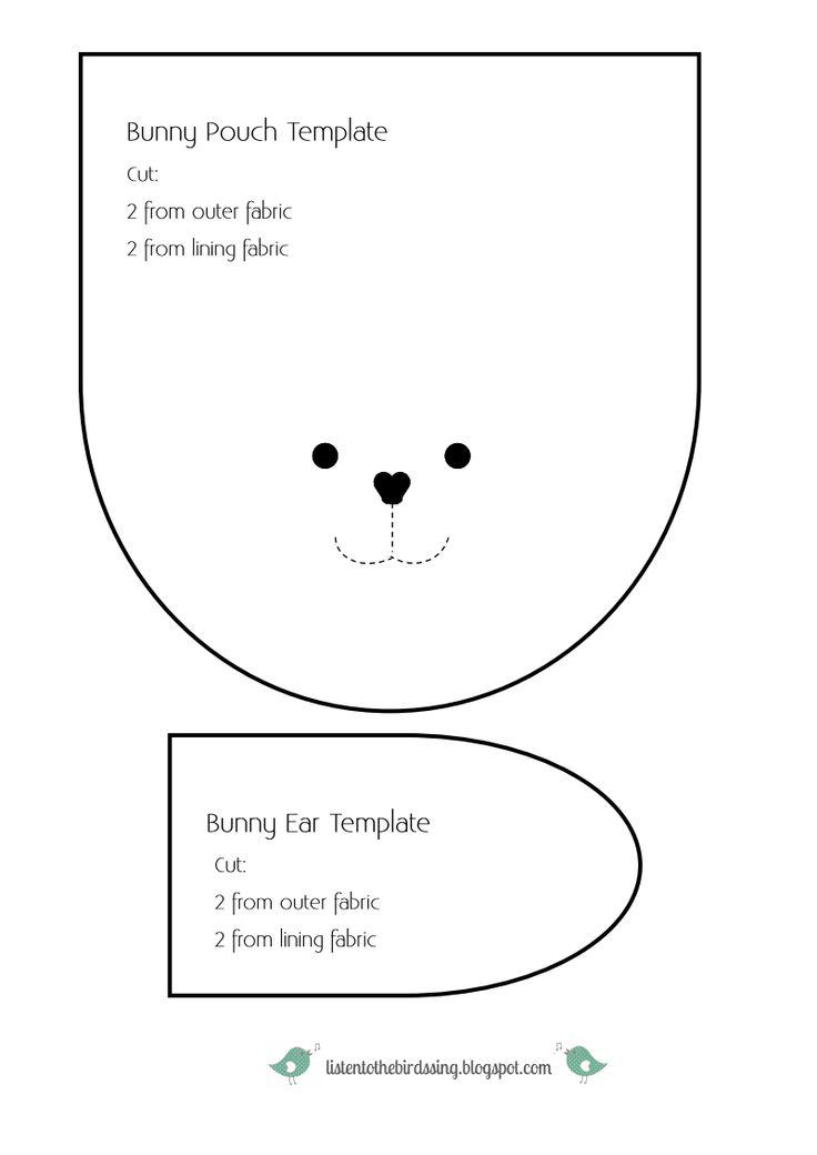 Bunny Pouch Template listentothebirdssing.pdf - Google Drive