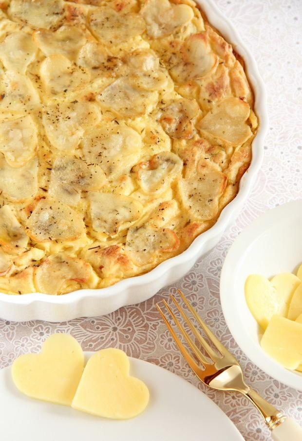 Puré de patatas y coliflor gratinado (Mashed potatoes&cauliflower)