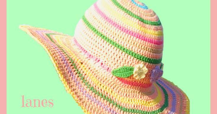 ¡Es momento de tejer una pamela a crochet! En este post encontrarás el patrón de puntos.