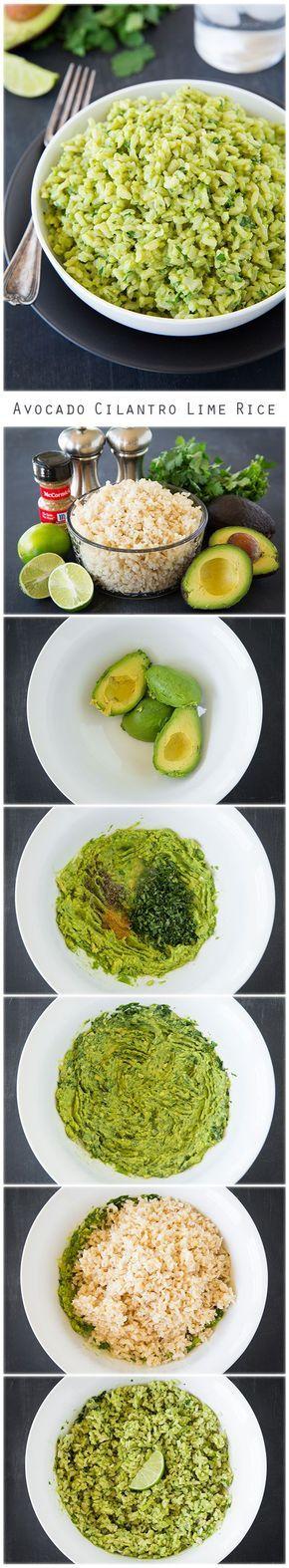 avocado-cilantro-lime-rice
