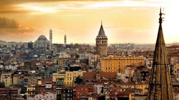 Turkish delights ... Istanbul shines.