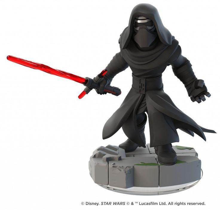 Disney Infinity 3.0 Figure: Kylo Ren (Wave 3, Star Wars: The Force Awakens Play Set, Sold Separately)