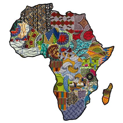 African Collage by The Baobab Telegraph.