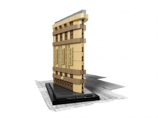 Флэтайрон-билдинг LEGO ARCHITECTURE - фото № 1