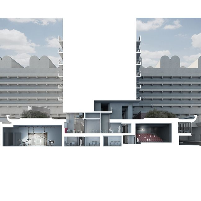The London Film School · Project · Nicholas Hare Architects