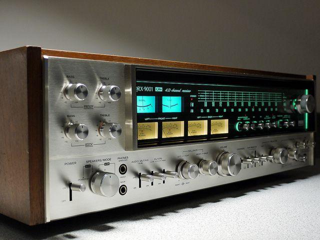 Quot Sansui Qrx 9001 Vintage Audiophile Quadro Receiver