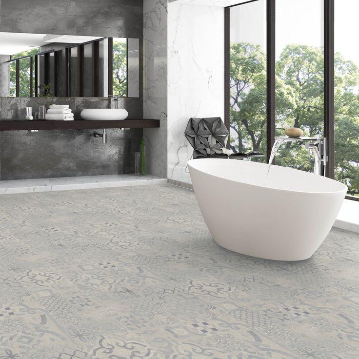 Blue Tile Effect Laminate, Tile Effect Laminate Flooring Bathroom