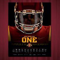 Day 16: Cyclone Football Poster Iowa State Football #CycloneFBScavengerHunt
