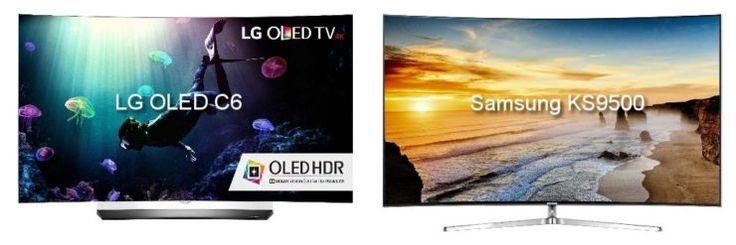 Samsung KS9500 vs LG OLED C6 Review