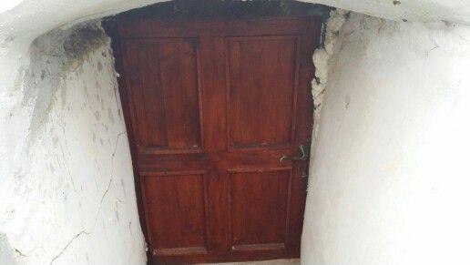 Dveře do sklepa