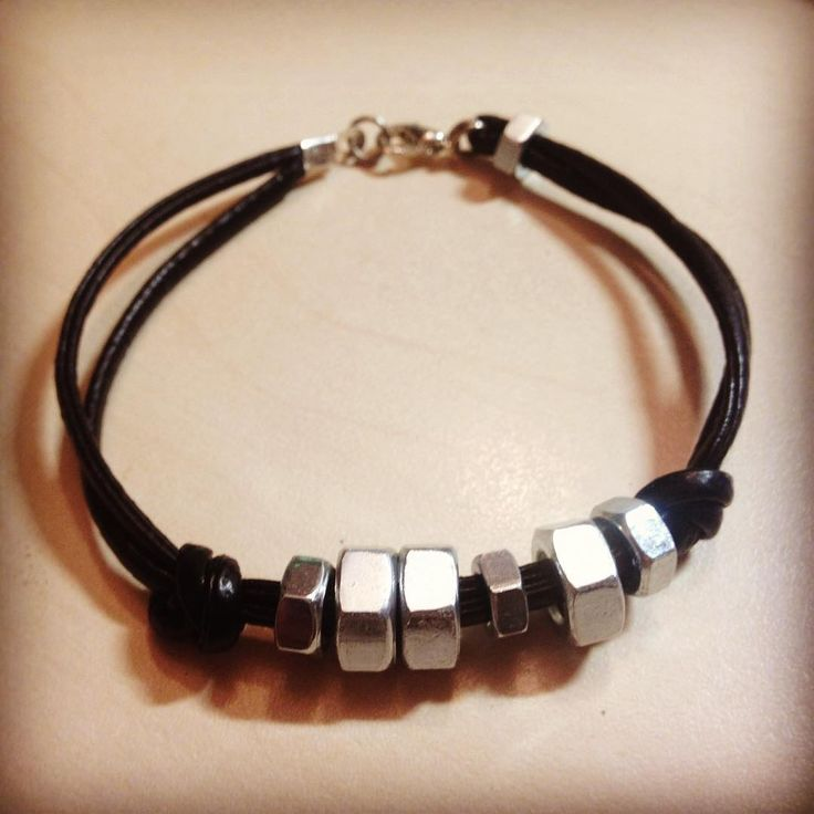 #bracelet #techcollection #industrialjewelry #nut