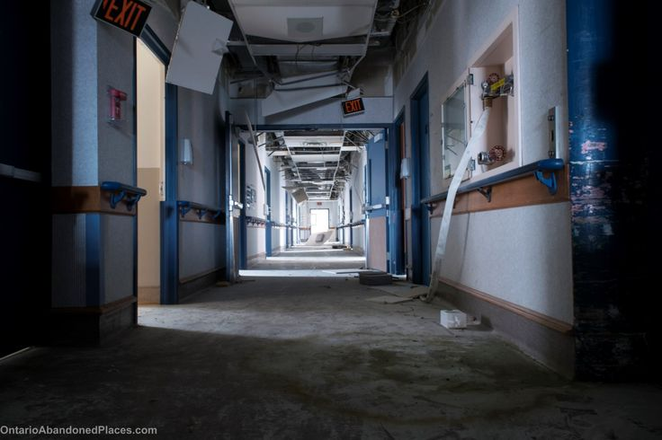 Abandoned hospital located in Ontario. #ontarioabandonedplaces #abandoned #derelict #decay #ontario #abandoned