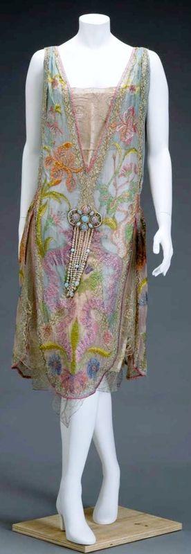 Callot soeurs, dress, ca 1926