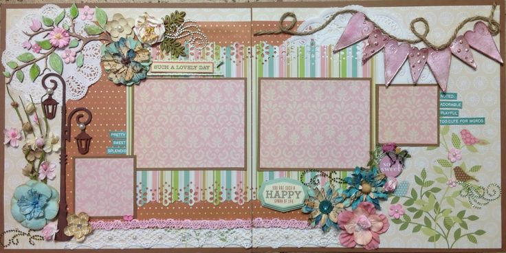 Such a Lovely Day Layout - AMAZING GRACE