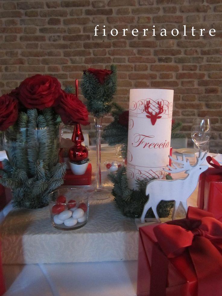 Fioreria Oltre/ Wedding at Christmastime/ Centerpiece