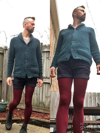 Get this look: http://lb.nu/look/8550407 More looks by Ryan W: http://lb.nu/bobofloyd Items in this look: Turquoise Cardigan, Gap Navy Corduroy Shorts, Burgundy Winter Footed Tights, Dr. Martens Green Dr. Marten Combs Boots #artistic #casual #grunge #drmartens #tights #androgynous #fun