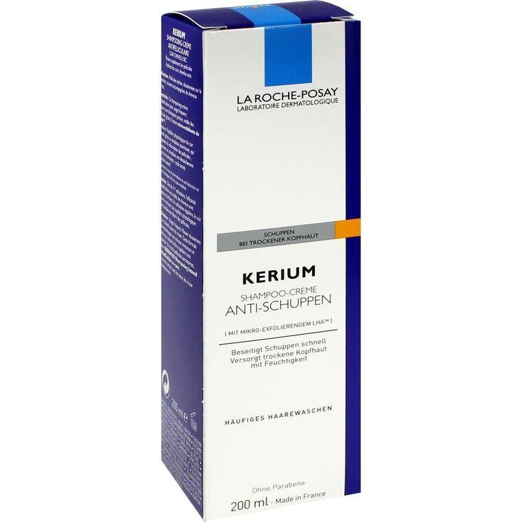LA ROCHE-POSAY Kerium Cremeshampoo für trockene Haut:   Packungsinhalt: 200 ml Shampoo PZN: 04229018 Hersteller: L Oreal Deutschland GmbH…