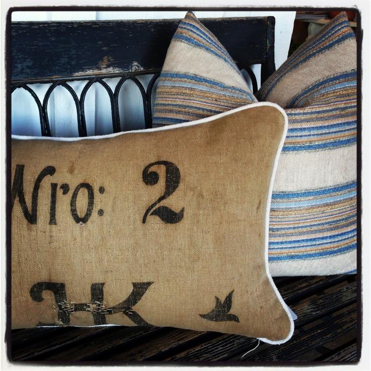 Antique Linen Pillows