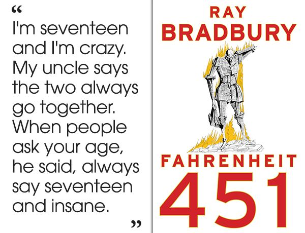 Fahrenheit 451 by Ray Bradbury | 46 Brilliant Short Novels You Can Read In A Day