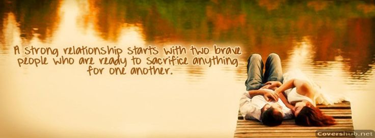 A Strong Relationship Facebook Cover Photo in HD only