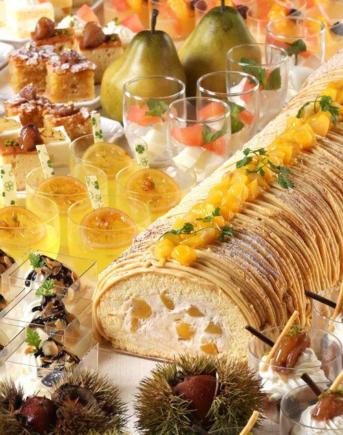 横浜ベイシェラトンにて秋の味覚を味わえるスイーツブッフェ- マロン&洋梨フェア