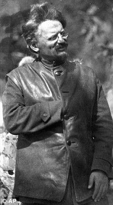 Leon Trotsky - Russian Marxist (Hidden Hand Masonic symbolism)