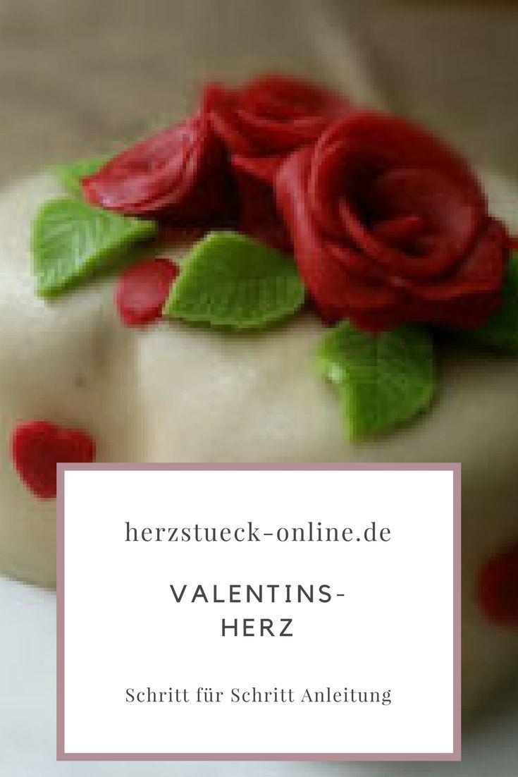 Nicht nur ein tolles Geschenk zum Valentinstag. Diese Torte findet ihr bei mir mit Schritt für Schritt Anleitung.