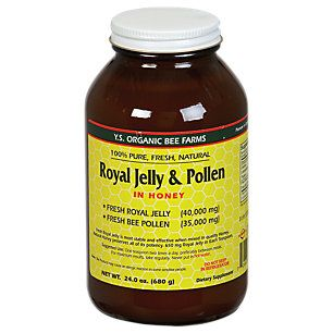 Buy Royal Jelly & Pollen in Honey (23 Ounces Gel) from the Vitamin Shoppe. Where you can buy Royal Jelly & Pollen in Honey and other YS Royal Jelly/Honey Bee products? Buy at at a discount price at the Vitamin Shoppe online store. Order today and get free shipping on Royal Jelly & Pollen in Honey (UPC:726635310313)(with orders over $35).