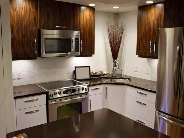 212 best images about kitchen ideas for Small kitchen makeovers