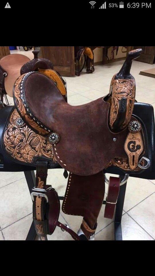 C3 barrel saddle by jeff smith saddlery | barrel saddles